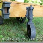 another factory cart table Hoosier Fence Co. $495 – SOLD